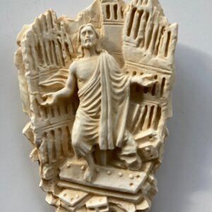 Cristo Ressuscitado branco