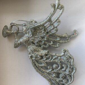Anjo na cor prata
