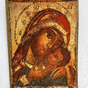 quadro do ícone da Theotokos