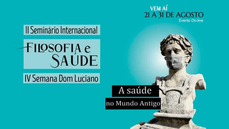 Convite para o II Seminário Internacional de Filosofia com o tema Saúde e Filosofia